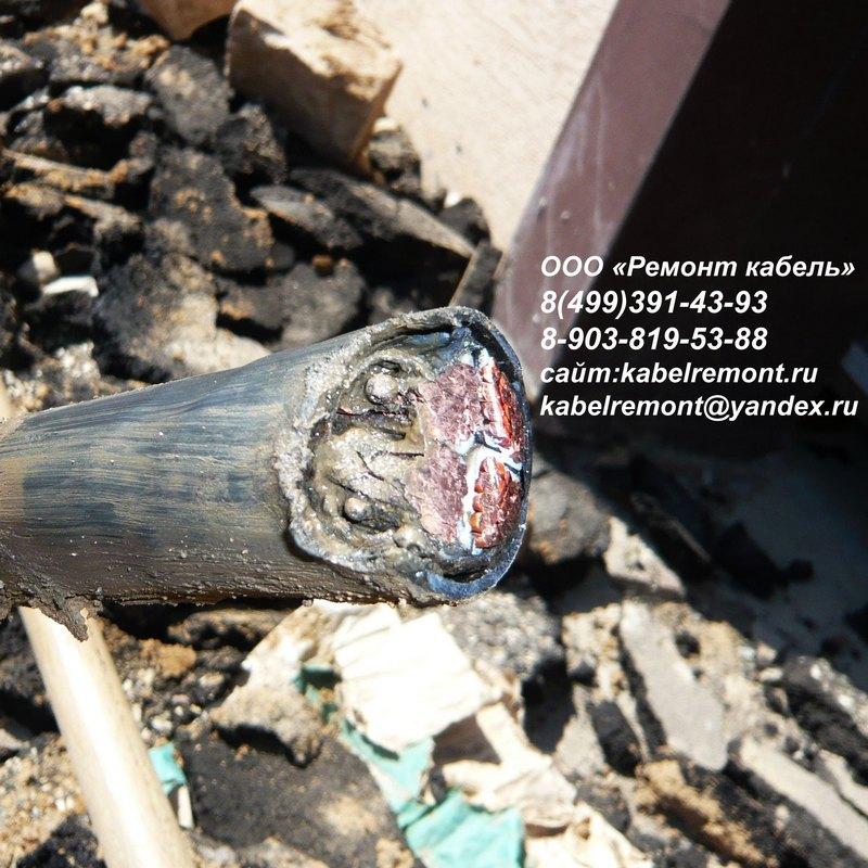 ремонт кабельных линий 6 кв определение места повреждения
