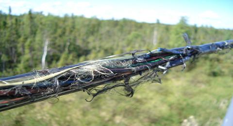 Повреждение кабельной линии