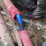 Ремонтные работы по поиску и устранению обрыва кабельной линии